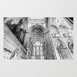 York Minster Art Rug