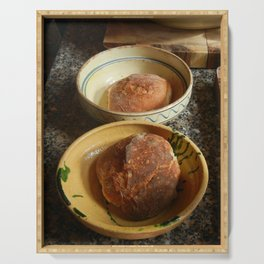 Bread Bowls Serving Tray