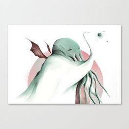 Cthulhu, conqueror of all worlds Canvas Print
