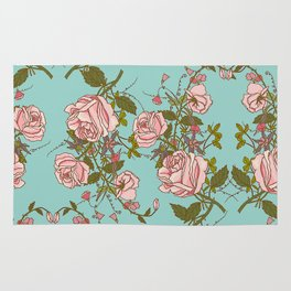 beautiful roses Rug