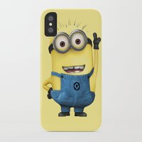 tim shumate iPhone & iPod Cases featuring It's Tim! by Harry Martin