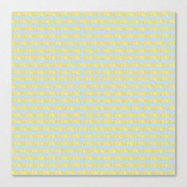 Catch the Half Lemon (Pattern Version) Canvas Print