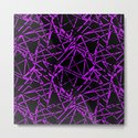 Abstract black and purple pattern .Line . by fuzzyfox85