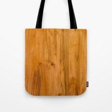 Teak Wood Tote Bag