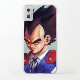 Vampire Vegeta Clear iPhone Case