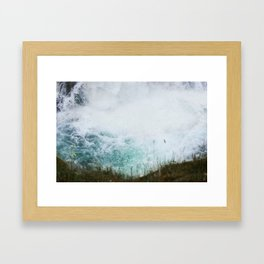 Ice cold Framed Art Print