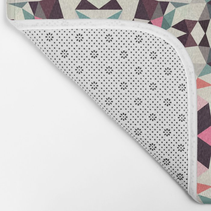 Retro Light Tribal Bath Mat