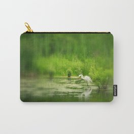 Marsh Egret 2 Carry-All Pouch