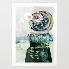 vitriol 3 Art Print