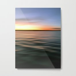 Sunrise City Metal Print