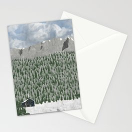 Mountain Home Stationery Cards