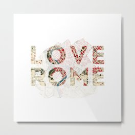 Where in Rome Metal Print