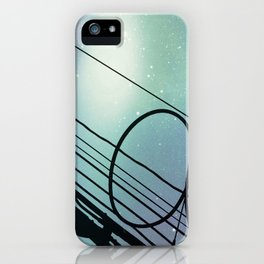 Wires #10 iPhone Case