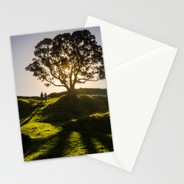 A couple of shadows Stationery Cards
