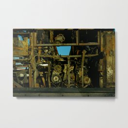 Engine that could Metal Print