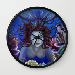 Show me your world Wall Clock
