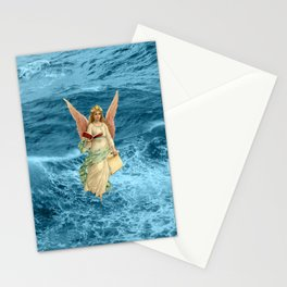 Christmas Card (Angel Waves) Stationery Cards