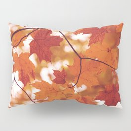 Fluttering from the Autumn tree Pillow Sham