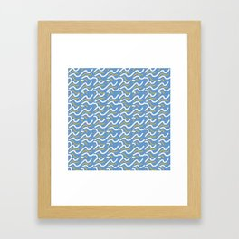 Currents Framed Art Print