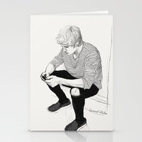 niall Stationery Cards featuring Niall Sketch by Coconut Wishes