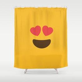 Love Face Shower Curtain