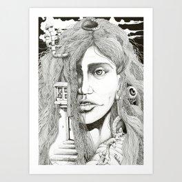 071011 Art Print