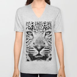 Leopard, Animal, Scandinavian, Minimal, Trendy decor, Interior, Wall art Art Unisex V-Neck