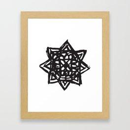 Akashic Key by Kip Framed Art Print