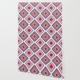 Aztec Rug Wallpaper