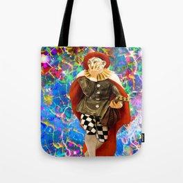Clown Troubadour Tote Bag