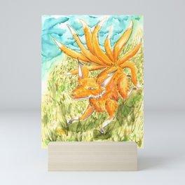 Sly Kitsune Mini Art Print