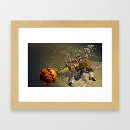 Dia De Los Muertakaiser Framed Art Print