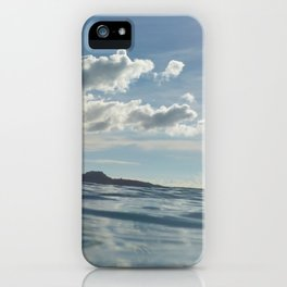uNdEr WaTeR vIeW iPhone Case