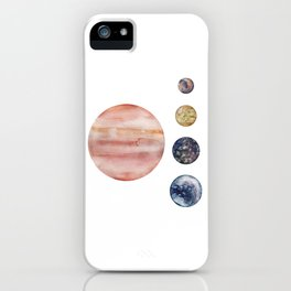 Jupiter & Moons iPhone Case