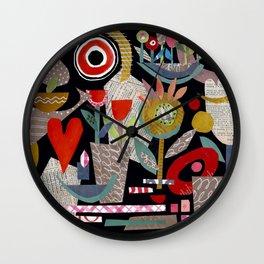 'night garden ...' Wall Clock