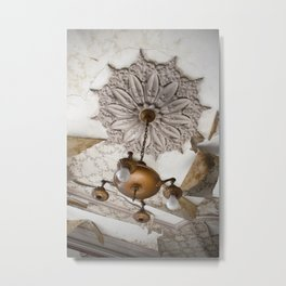 1863 Ceiling Metal Print