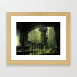 Ravnica Swamp Framed Art Print