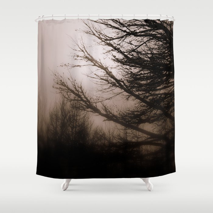 Foggy day Shower Curtain