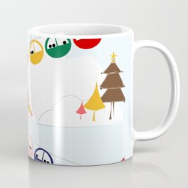 Ski cables Coffee Mug