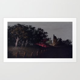 Night Digger Art Print