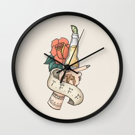 Thank F*** For Fridays Wall Clock