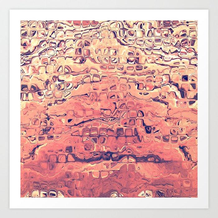 Layers of Sand Art Print