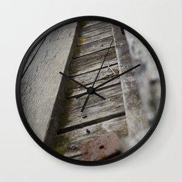 Camp Linn Haven Bridge Wall Clock