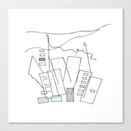 City Stories Canvas Print