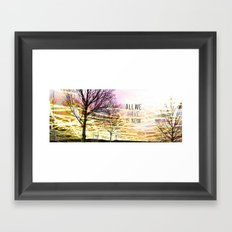 Unexplored Avenues by Debbie Porter Framed Art Print
