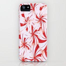 Mahogany Valencia Twirls iPhone Case