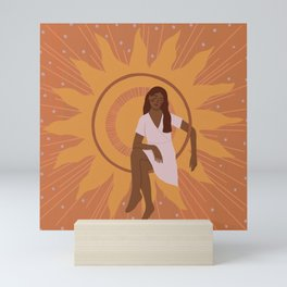 Sun Goddess Mini Art Print