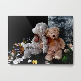 Teddy Bear Buddies Metal Print