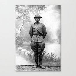 Harry S. Truman - WWI Military Uniform Canvas Print