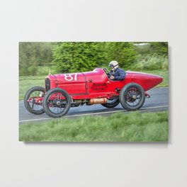 Vintage Racing Car - Hudson Special Metal Print